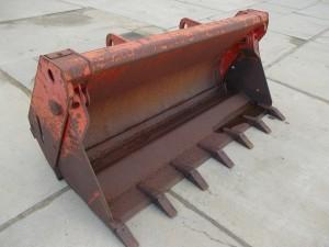 Shovelbak deelbaar 180 cm breed