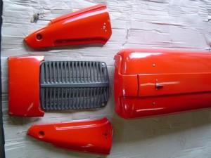 Motorkap MF35